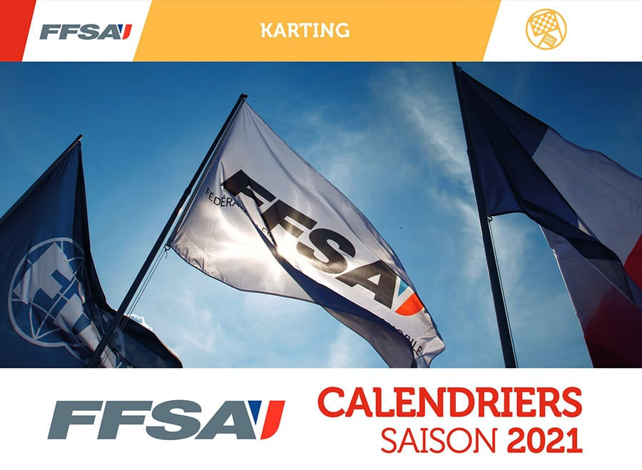 Calendrier Ffsa 2022 Saison FFSA Karting 2021 – calendrier complet   Kartcom