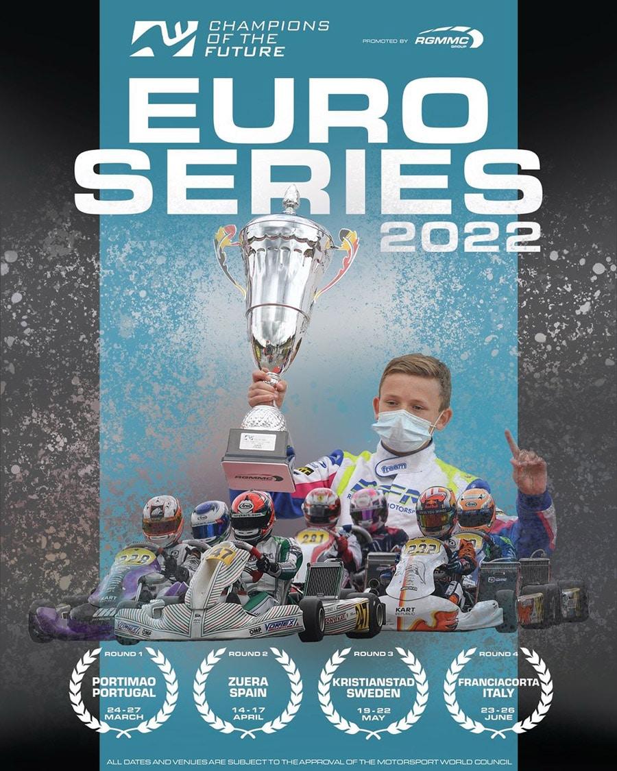 Calendrier Séries 2022 Champions of the Future Euro Series 2022   Kartcom